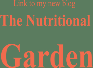 Side bar nutritional garden